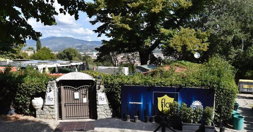 Il luogo dove due carabinieri sarebbero intervenuti per dei disordini in una discoteca a Firenze
